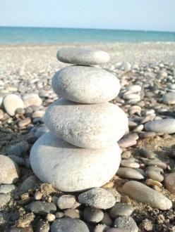Piedras en eqquilibrio